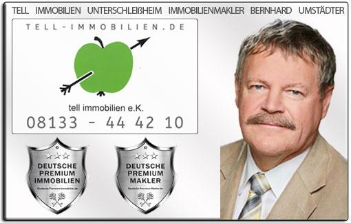 IMMOBILIENMAKLER UNTERSCHLEIßHEIM BERNHARD UMSTÄDTER TELL IMMOBILIEN MAKLER IMMOBILIENANGEBOTE MAKLEREMPFEHLUNG