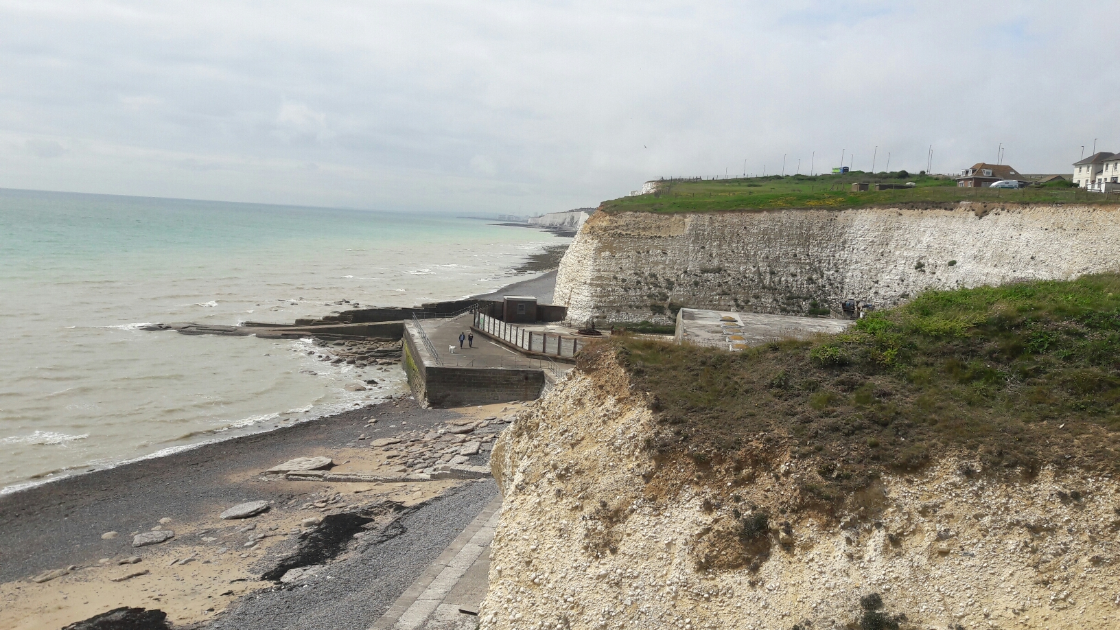 Steilküste hinter Brighton