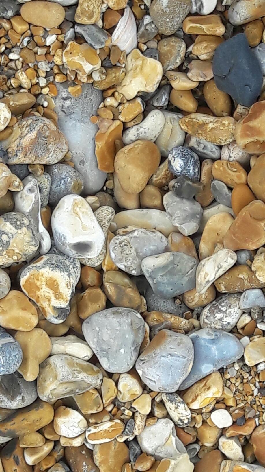 Steine, weit und breit nur Steine ...