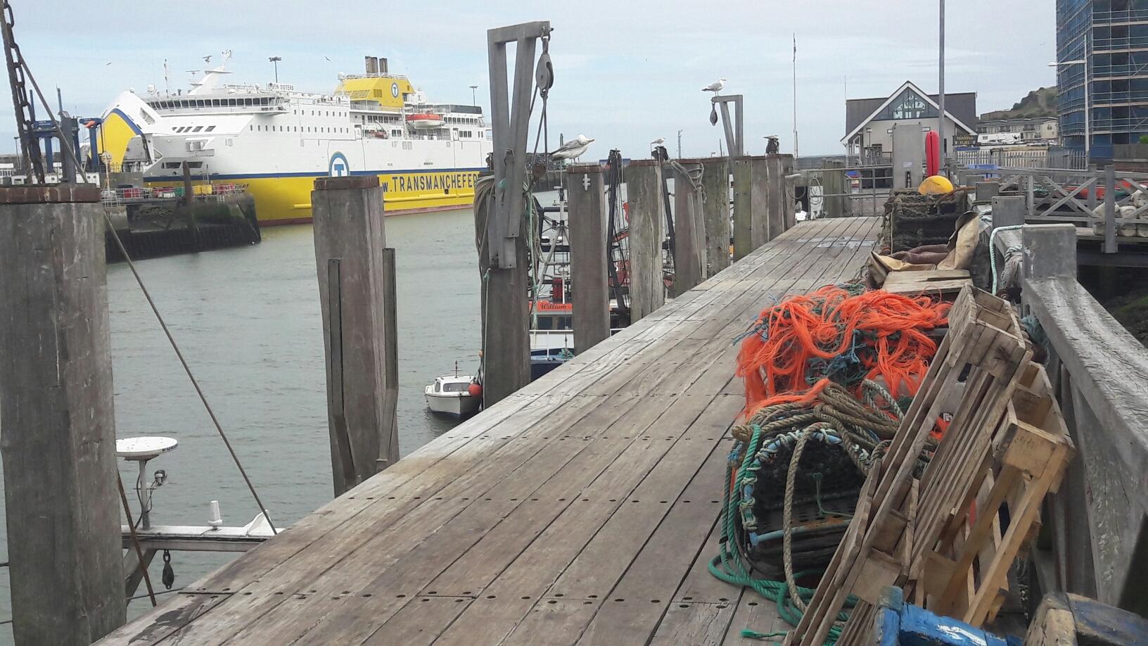 kleiner alter Hafen von Newhaven