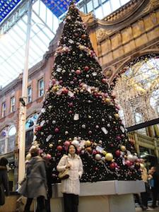 巨大クリスマスツリー!