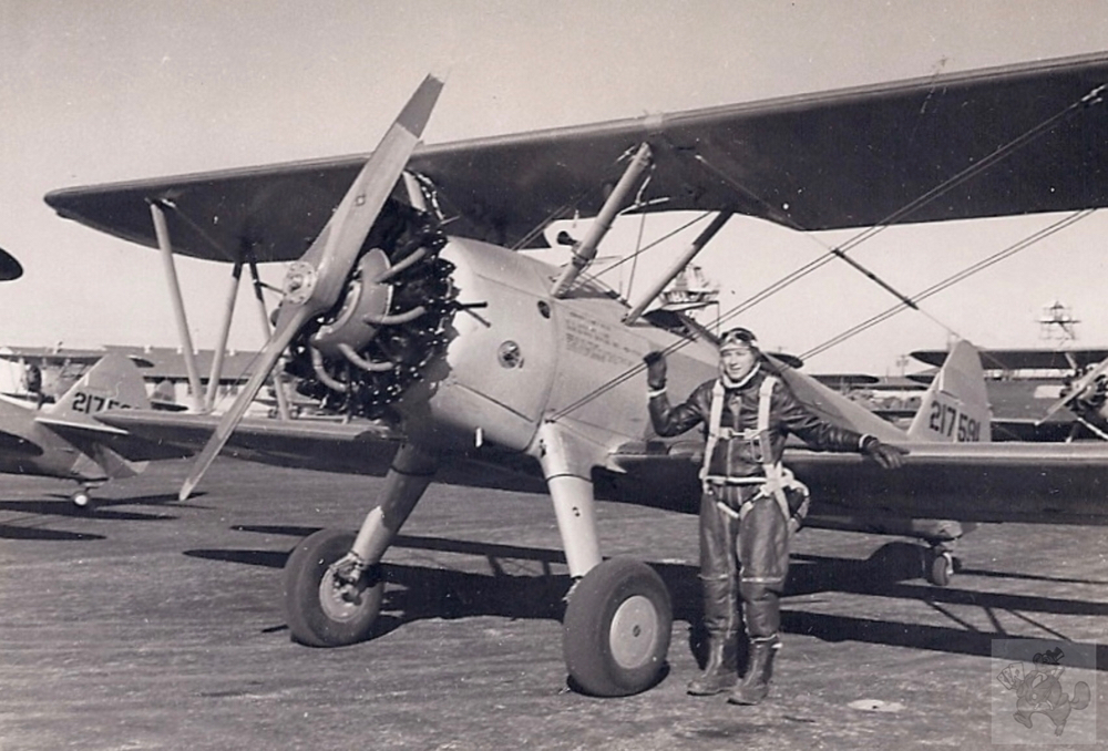 Dick Taylor, PT-13D, San Angelo, Texas, Instrument & Night Flying School, Nov. 1944
