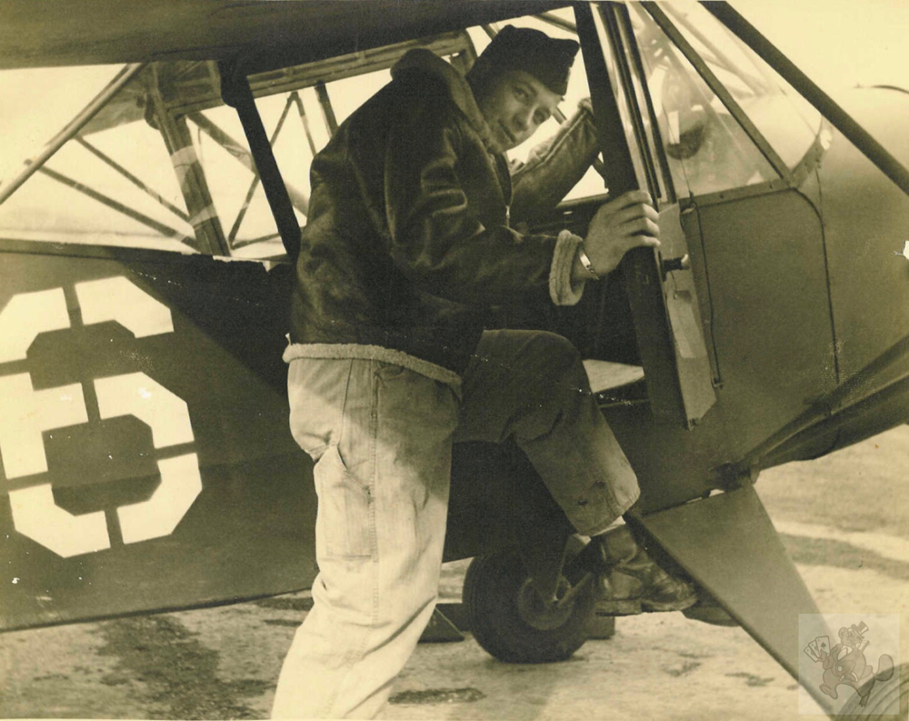 Dick Taylor, L-2, Pittsburg, Kansas, March 1944