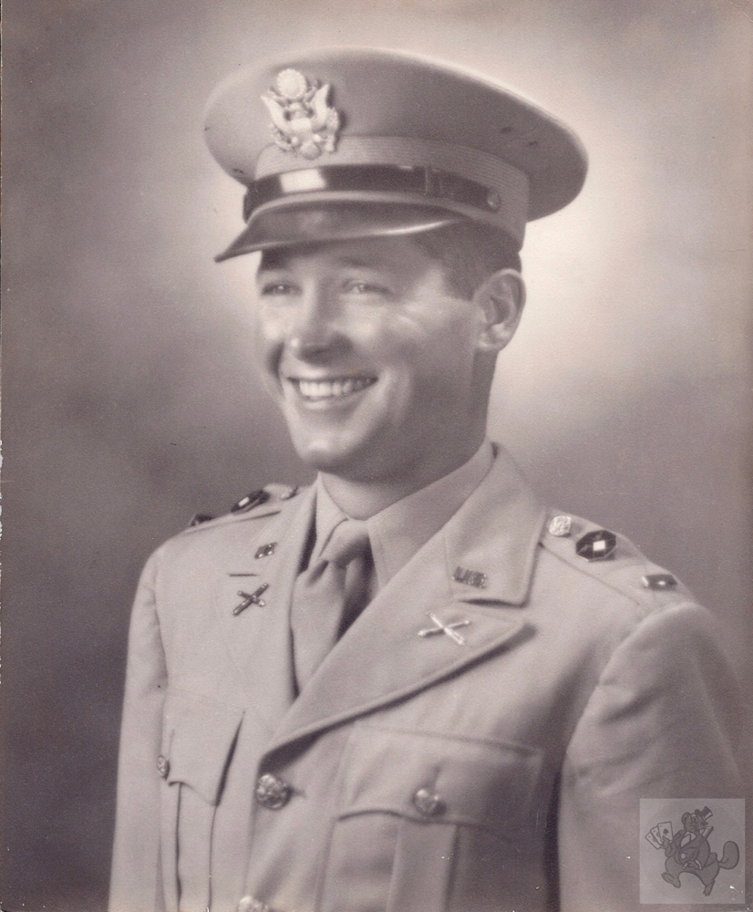 Dick Taylor, June 1946, Captain, US Army, 417th Field Artillery Group