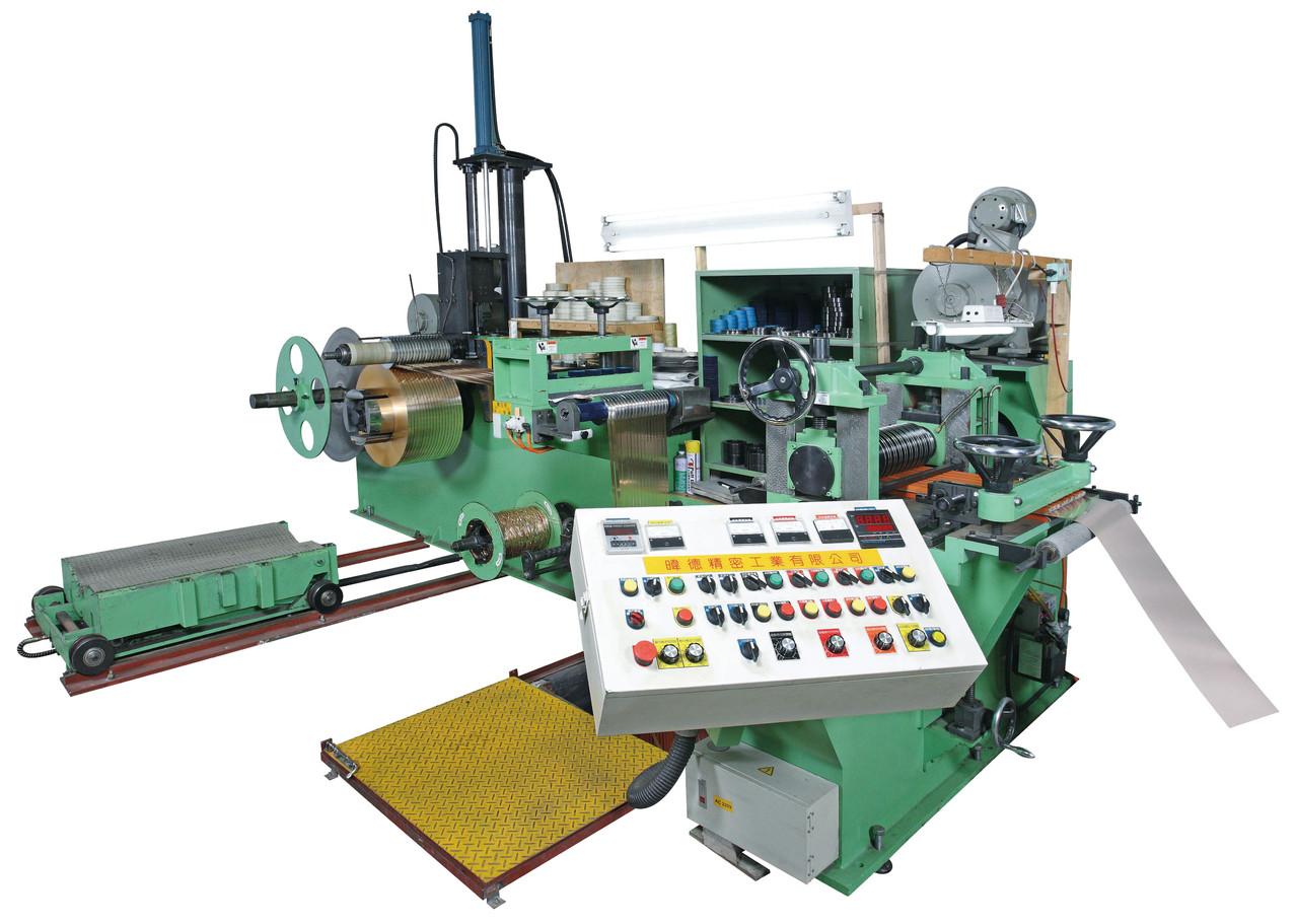 スリッタ-ライン 小型機械設備