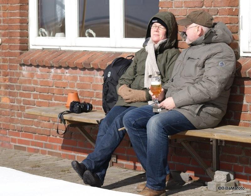 Das Ehepaar ... Päuschen! Foto: Birgit Martensen