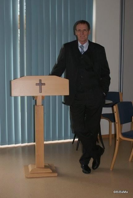 Der Leiter des OKR ABSSV, Klaus Peter Thies