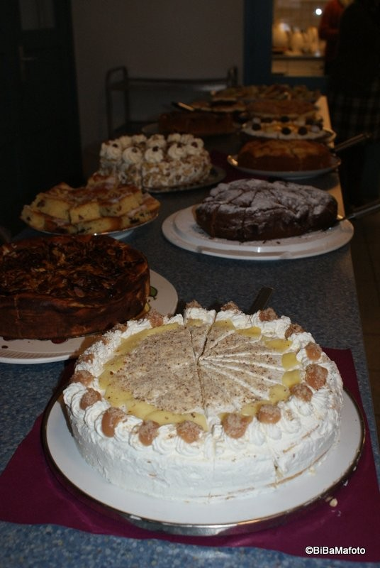 Das Kuchenbuffet!