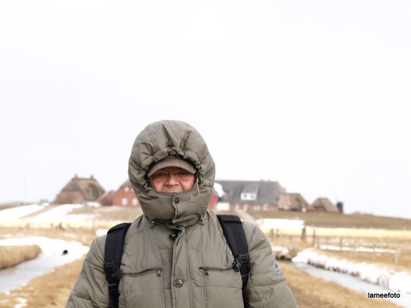 Eskimo ... auf Langeness? Foto: Lameéfoto