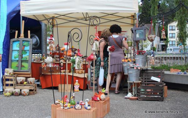 Keramik-Fleury Rosenmark Waiblingen Stand 2013