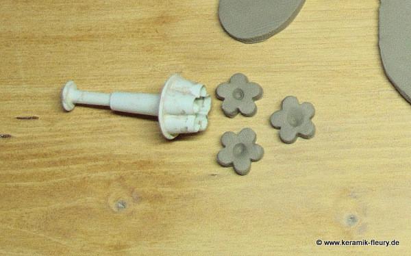 Töpfer-DIY: Keramik-Kühlschrankmagnet Schritt 4