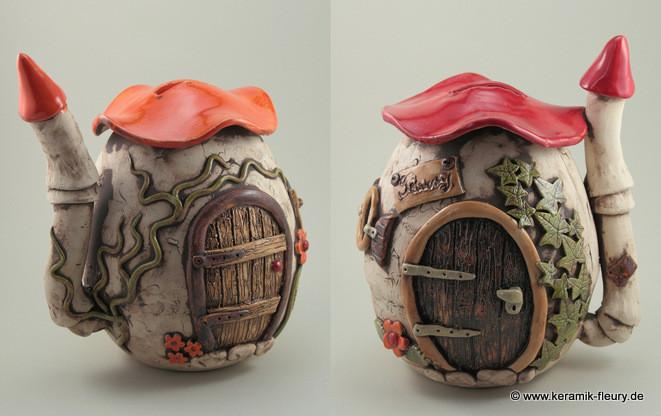 Spardosen aus Keramik