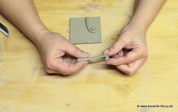 Töpfer-DIY: Keramik-Kühlschrankmagnet Schritt 6