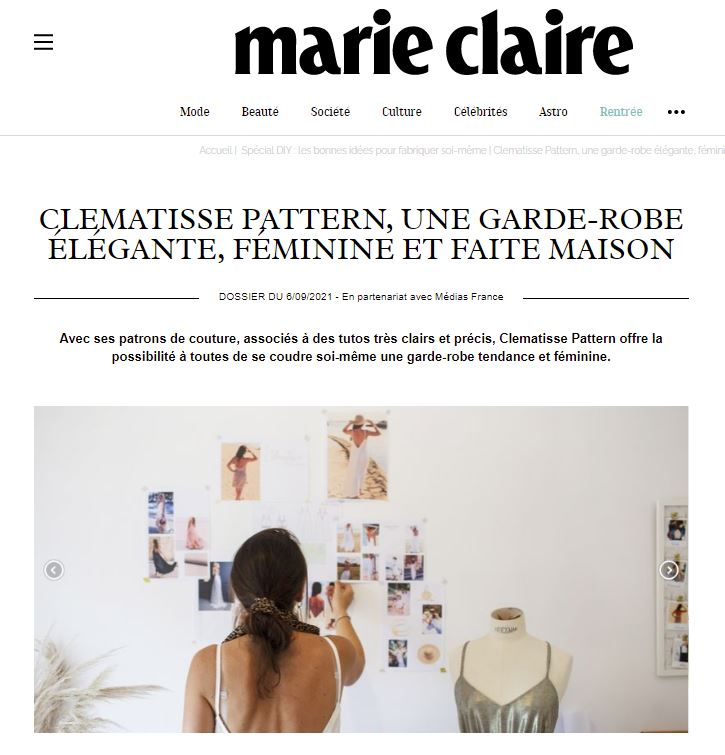 Interview Marie Claire