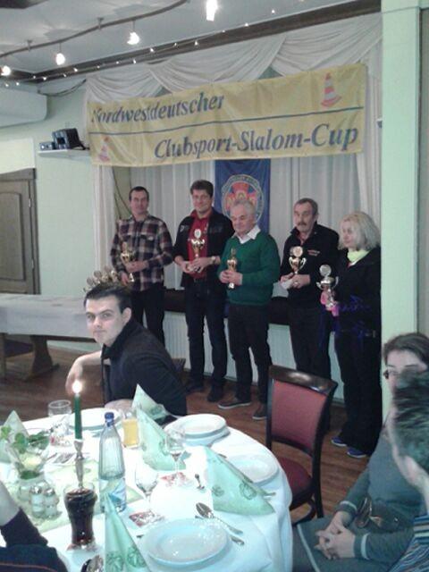 NWD-Slalom-Cup Siegerehrung