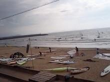 広い海で、自由自在に走れるウィンドサーフィンの魅力は 計り知れないね