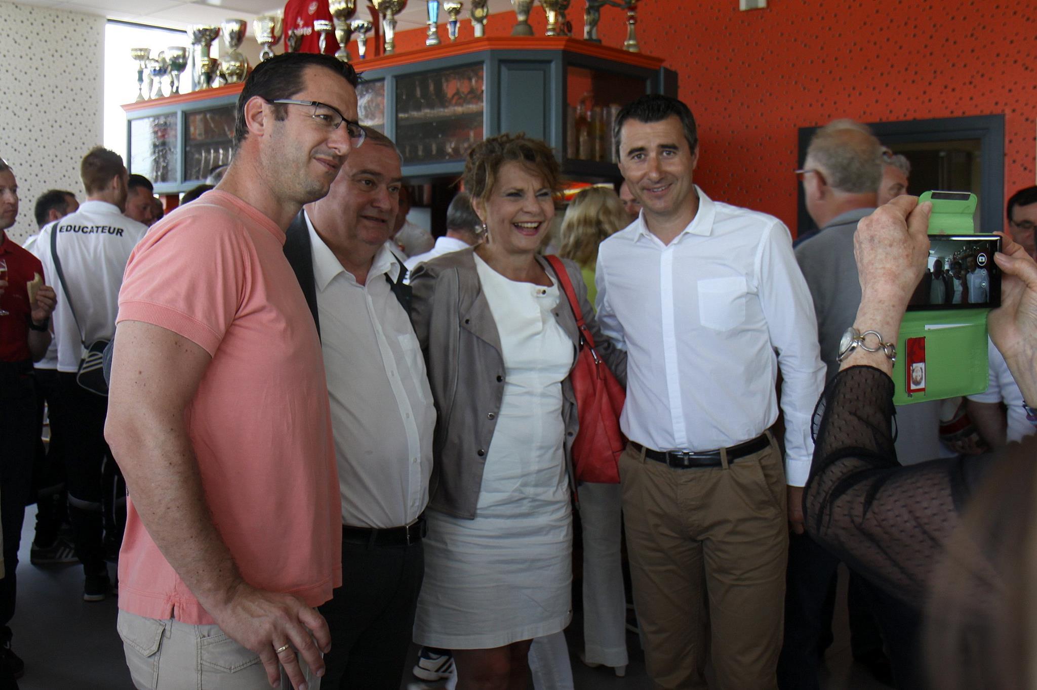 François et Marc Keller étaient présents