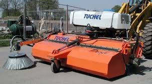 Tuchel Sweep 600 profi Kehrmaschine (Kuhn)
