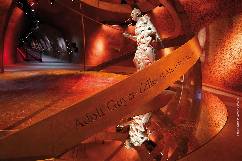 In diesem Goldenen Zeitalter, das von der Ingenieurskunst geprägt war,  hatte auch Adolf Guyer-Zeller eine bahnbrechende Vision: