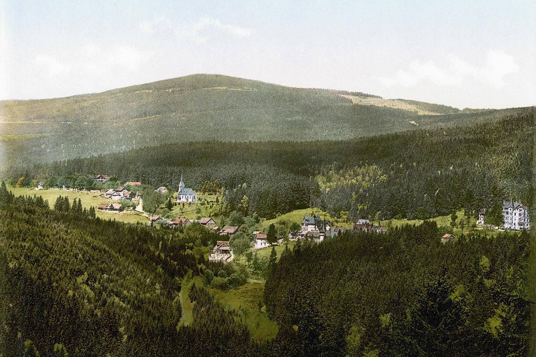 ... die sich von Schierke am Fuße des Brockens bis auf den Harzer Winterberg erstreckt.