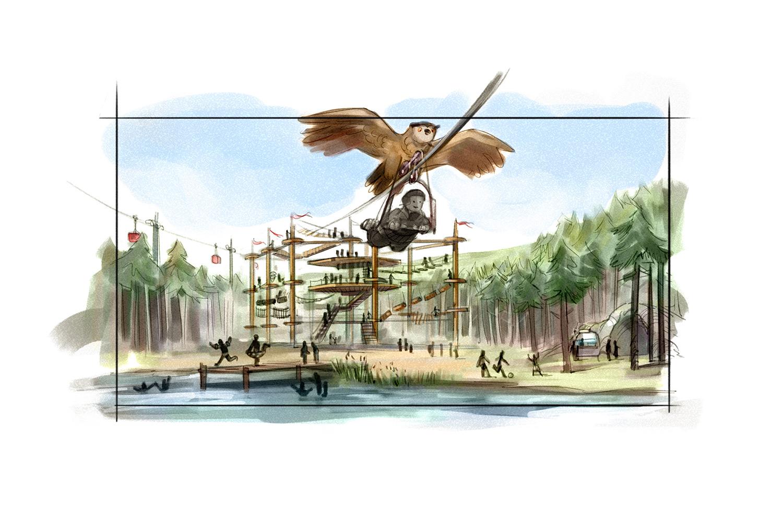 ... wird den Gästen ein umfangreiches Ganzjahreserlebnis geboten, das ganz im Zeichen der Harzer Natur und Tierwelt steht.