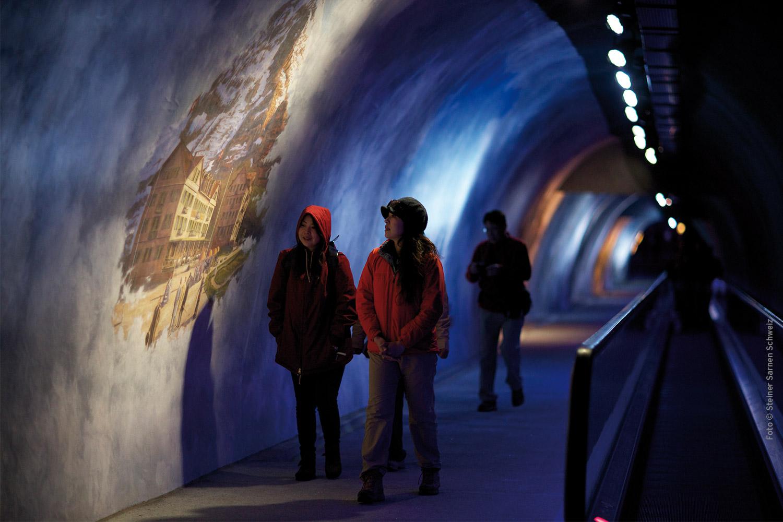 Eine Sehnsucht, die man auch als Ursprung des Alpentourismus betrachten kann.