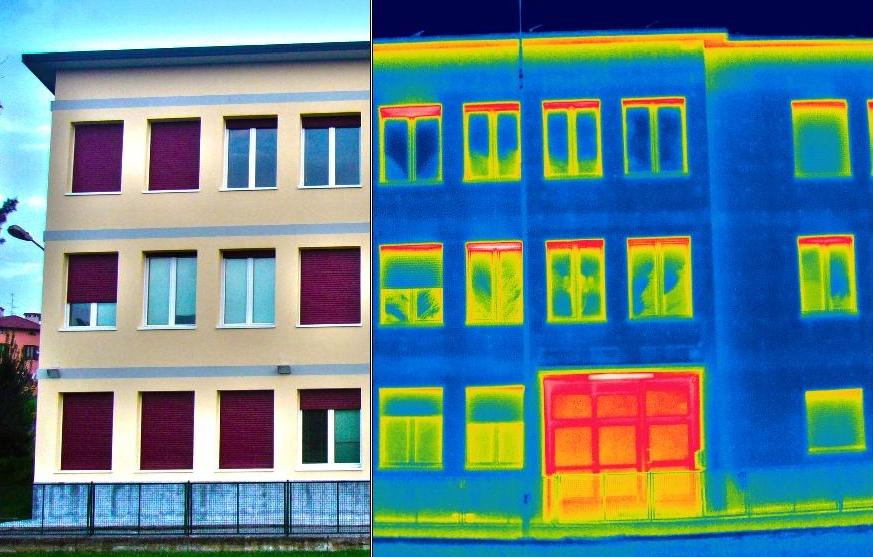 Termografia modena, termografia casa, raggi x casa, ponti termici,