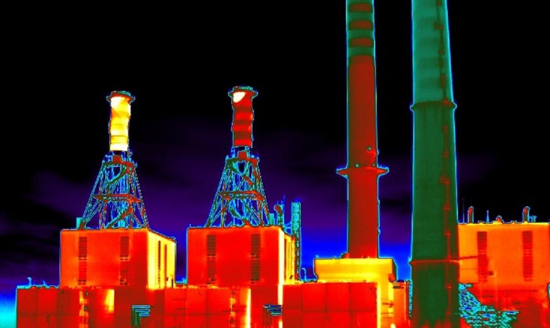 termografia industriale e raffineria