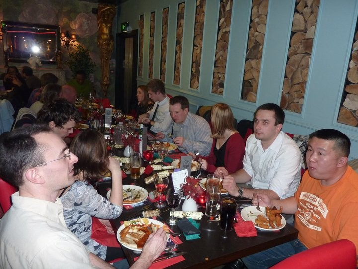 christmas social at red hot world buffet