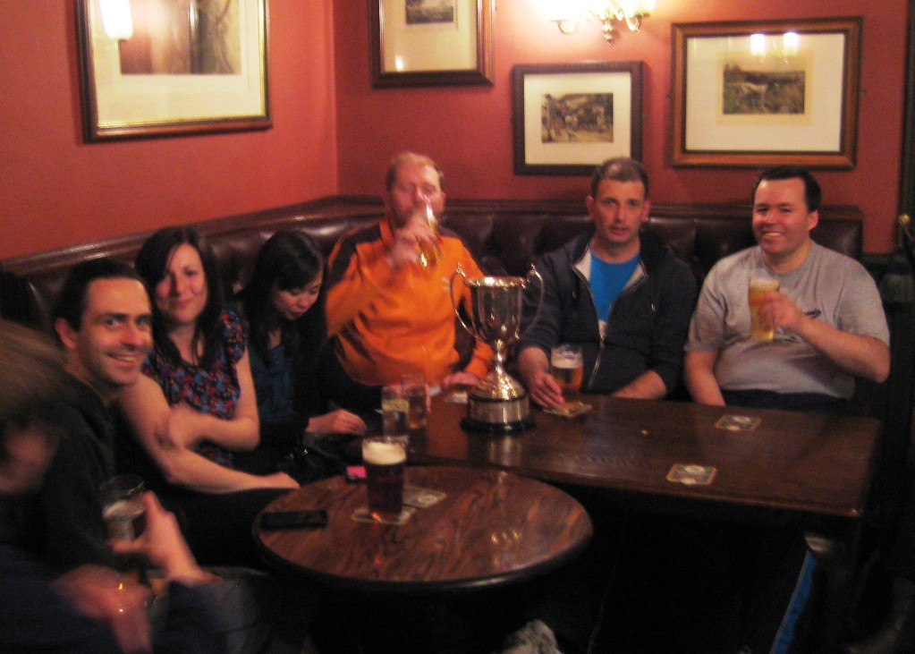 post trophy match - harewood arms