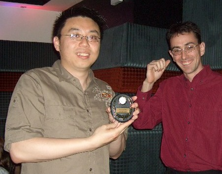2007 awards night - gents A best player - Joe Chen