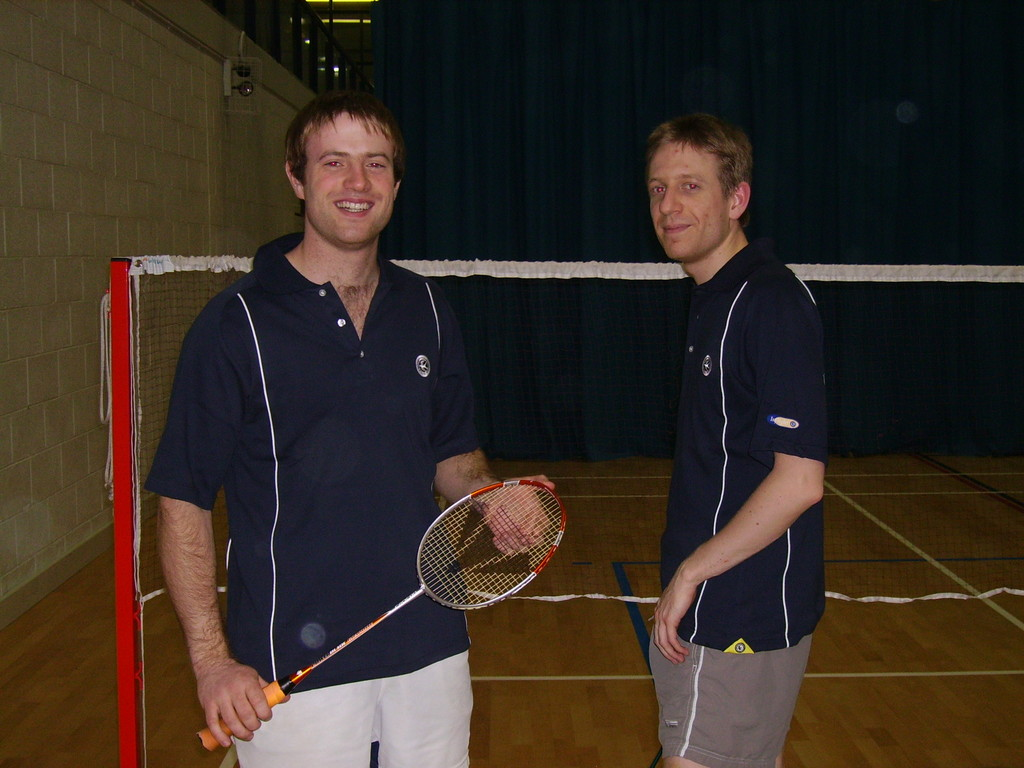 2006 - new club kit modelled by howard J & mike