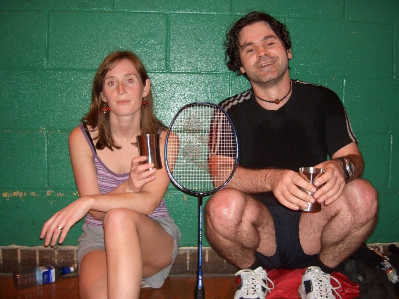 dec 2005 - club tournament winners - Toni & Bo