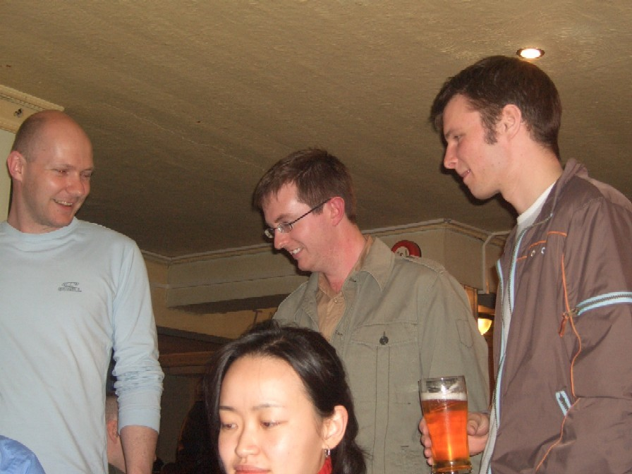 april 2006 - easter social - New Inn, Headingley
