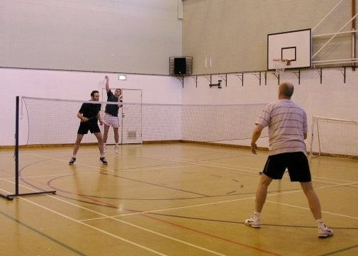 gents A vs uni staff - alex & scants