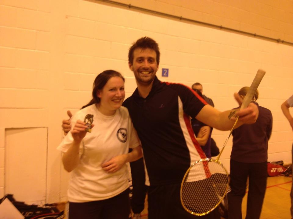 tournament runners-up Sarah B & Ted