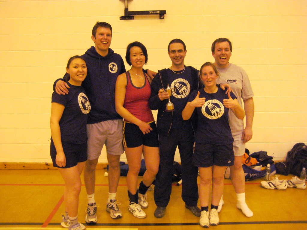 mixed A team - division 3 champions