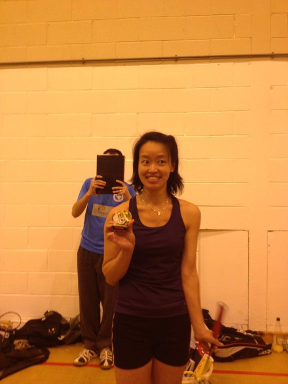 club presentations: Ladies player of the year Grace Wong