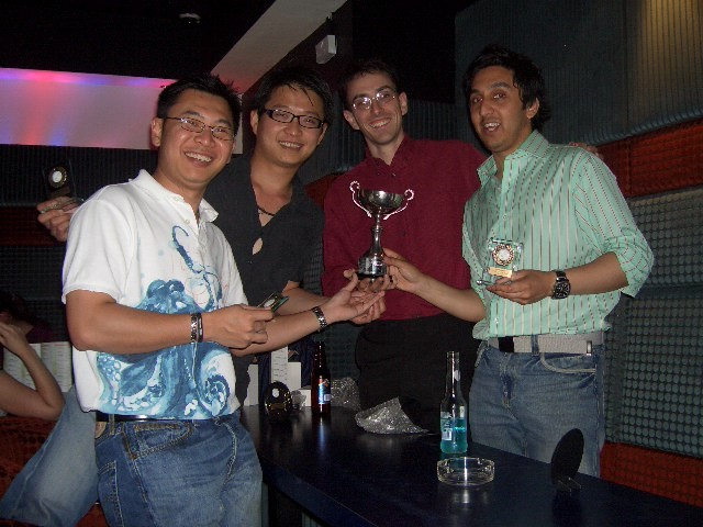 2007 social & awards night - gents B winners division 3