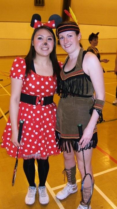 Minnie & Pocahontas