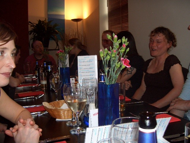 april 2006 - easter social - Olive Tree, Headingley