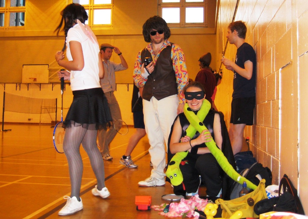 Fancy dress tournament 2009