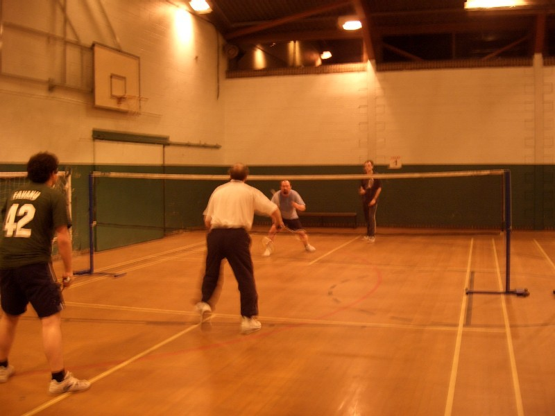 dec 2005 - club tournament held at Scott Hall Sports Centre
