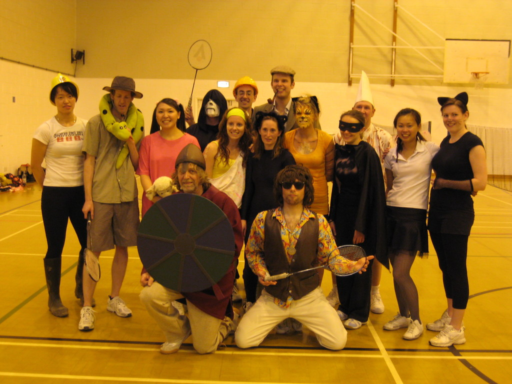 fancy dress tournament - June 2009