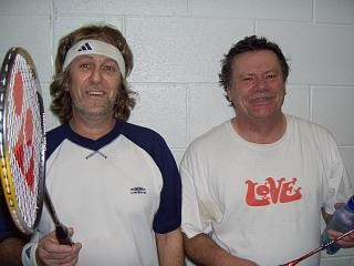 faces from 2005 - Rob & Iain