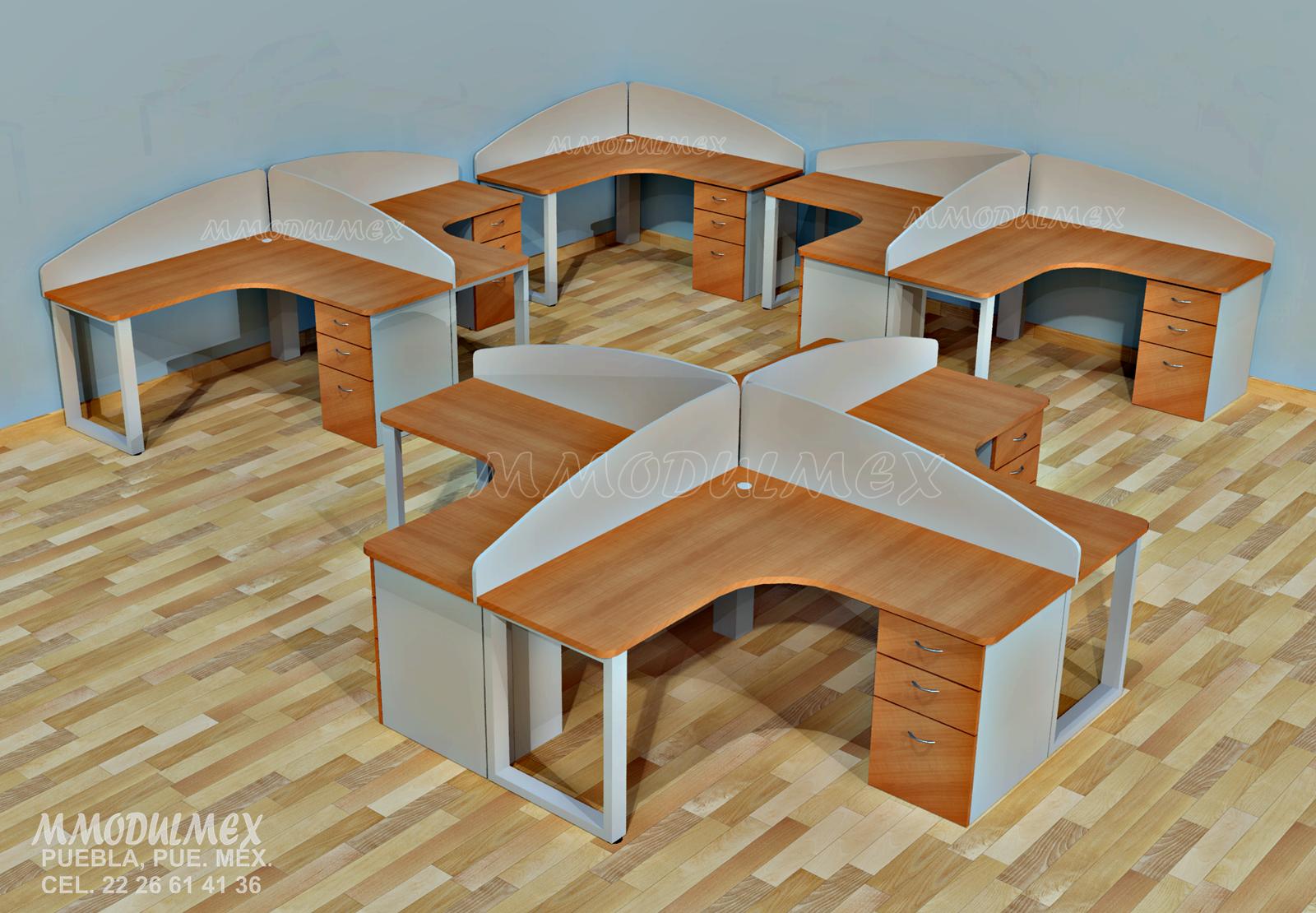 Muebles de oficina, escritorios,