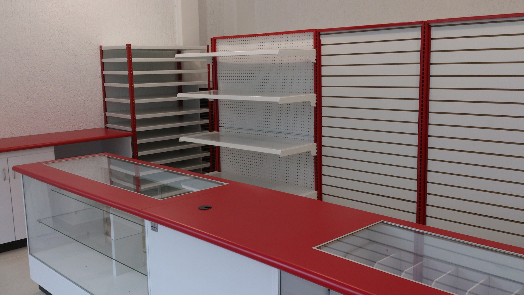 Muebles para papelería, vitrinas para papelería