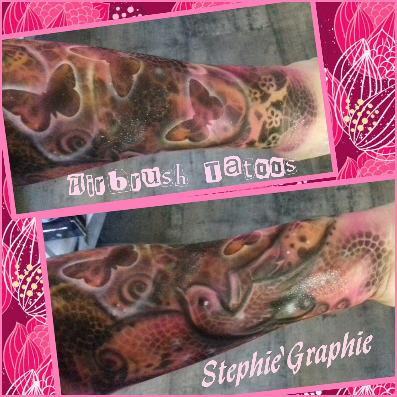 Airbrush tatoo