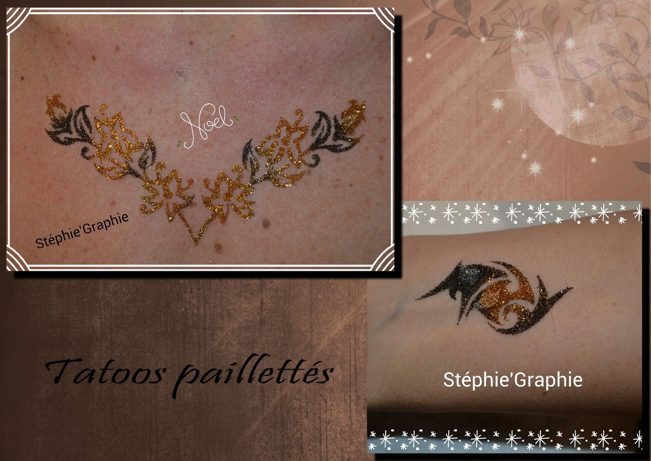 Tatoo paillettes