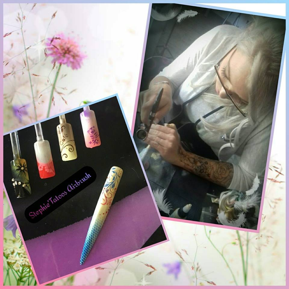 Swanny , initiation 2 jours Tatoos et Nail Art